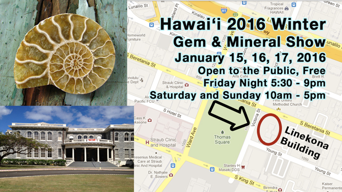 2016 Hawaii Rock and Gem Show